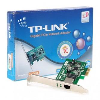 NIC TP-Link TG-3468, 32-bit Gigabit PCIe Network Adapter, Realtek RTL8168B, 10/100/1000Mbps RJ45 port, Auto MDI/MDIX
