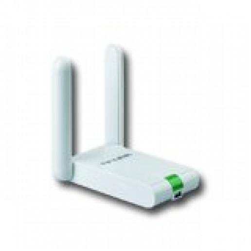 NIC TP-Link TL-WN822N, Mini USB 2.0 Adapter, 2,4GHz High Gain Wireless N 300Mbps, Fixed Omni Directional Antenna 2 x 3dBi