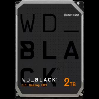 HDD Desktop WD Black (3.5'', 2TB, 64MB, 7200 RPM, SATA 6 Gb/s)