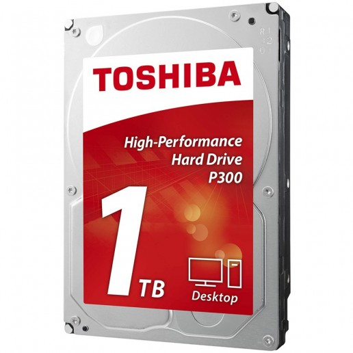 "HDD desktop Toshiba P300 (3.5"" 1TB, 7200RPM, 64MB, NCQ, AF, SATAIII), bulk"