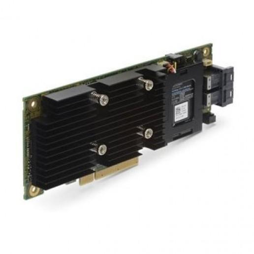 DELL PERC H330 Storage RAID Controller Card, PCIe 3.0 x8, Full Height,SATA 6Gb/s / SAS 12Gb/s, 1.2Gbps, 8 Ch, RAID 0, RAID 1, RAID 5, RAID 10, RAID 50; CPU:LSISAS3008, 2 x SATA 6Gb/s / SAS 12Gb/s - 36 pin 4x Mini SAS HD (SFF-8643) ( internal )