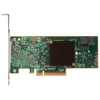 LSI MegaRAID SAS 9341-4i SGL, 12Gb/s, SAS/SATA 4-port int., RAID 0/1/10/5/50, (LSI00419) (Original by Broadcom)