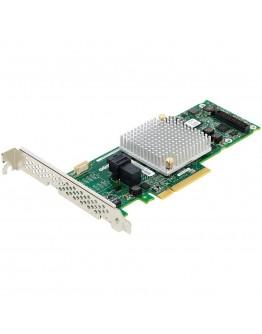 Microsemi Adaptec RAID Controller 8405, 4 int. ports, 1 x SFF-8643, 12 Gbps ROC, RAID 0, 1, 1E, 5, 6, 10, 50, 60, Cache 1 Gb, AFM-700 (sold separately), x8 PCI-E Gen3, MD2, LP, (2277600-R)