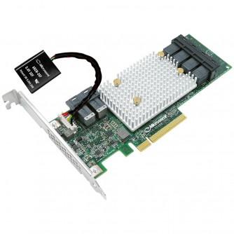 Microsemi Adaptec SmartRAID 3154-8i, 8 int. ports, 2 x SFF-8643, 12 Gbps ROC, RAID 0, 1, 5, 6, 50, 60, 1-ADM, 10-ADM, Cache 4 Gb DDR4, maxCache 4.0, Cache Protection, x8 PCI-E Gen3, MD2, LP, (2291000-R)