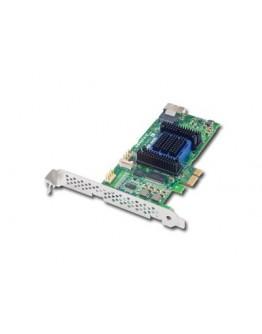 RAID Controller ADAPTEC 2270800-R, Internal RAID 6405E 128MB up to 4 devices (PCI Express 2.0 x1, SAS/SATA III, RAID levels: JBOD, 0, 1, 10, 1E), Single, 2270800-R