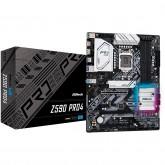 ASROCK Main Board Desktop Z590 chipset (S1200, 4x DDR4, 2x PCIe x16, 3x PCIe x1, 6x SATA3, 2x M.2, 4x USB3.0, 2x USB2.0, GLAN, 1x HDMI, 1x DP) ATX.