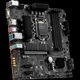 MSI B560M PRO-VDH,m-ATX,Socket 1200,Intel B560 Chipset,4 DIMMs Dual Channel DDR4 up to 5066(OC)MHz,1x PCIe x16 slot,2x M.2 slot,2x USB 3.2 Gen 2,2x USB 3.2 Gen 1,2x USB 2.0,1x HDMI,1x DP,1x VGA,2.5G LAN, 7.1 Audio,3y warranty