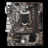 MSI H310M PRO-VDH, mATX, Socket 1151, Dual Channel DDR4 2666 MHz, 1x PCIe 3.0 x16 slot, 1x VGA, 1x DVI-D, 1x HDMI, 2x USB 3.1 Gen1, 4x USB 2.0, 7.1 HD Audio, 1Gbps LAN