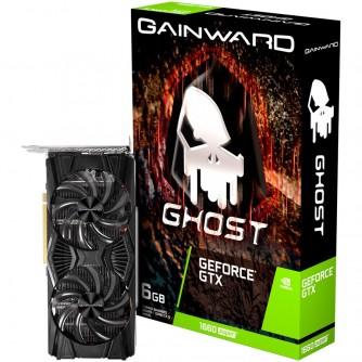 Gainward GeForce GTX 1660 SUPER Ghost 6GB GDDR6 (192 bits), PCI-Express 3.0 x 16, HDMI v2.0, DisplayPort, DVI-D, dual Fan, 8 pin pwr connector, 471056224-1402