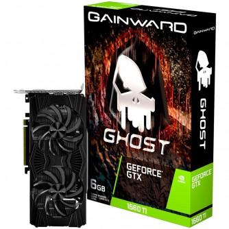 Gainward Video Card GTX1660Ti GHOST 6GB 192B GDDR6 DVI DP HDMI