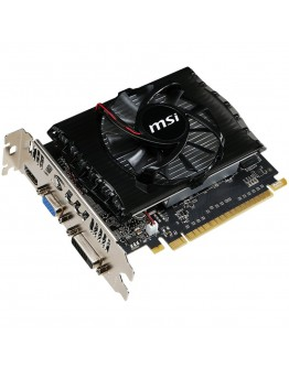 MSI Video Card NVidia GT N730-2GD3V2 (DDR3 2GB/128bit, 700MHz/1800MHz, PCI-E 2.0 x16, HDMI, DVI-D, VGA, Cooler,)Retail