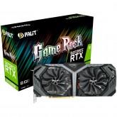 PALIT Video Card GeForce RTX 2070 SUPER NVidia, GameRock 8GB GDDR6,256bit ,HDMI,3xDP,part#NE6207S020P2-1040G