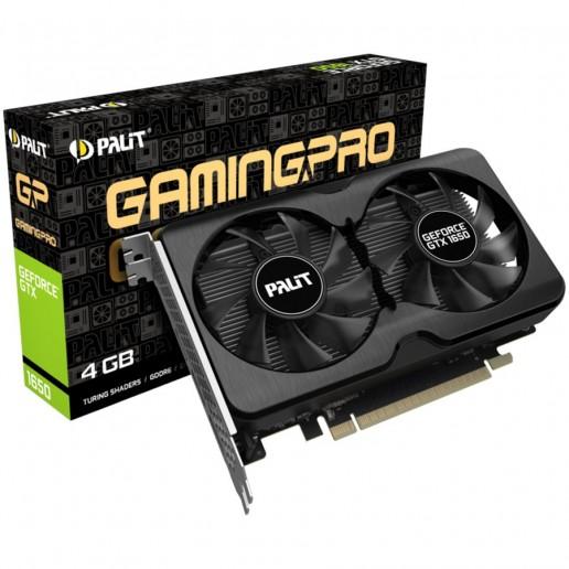VC Palit nVidia GTX1650 GamingPro OC 4GB GDDR6 , 128bit, 2xDsplayPort, HDMI, part# NE61650S1BG1-1175A