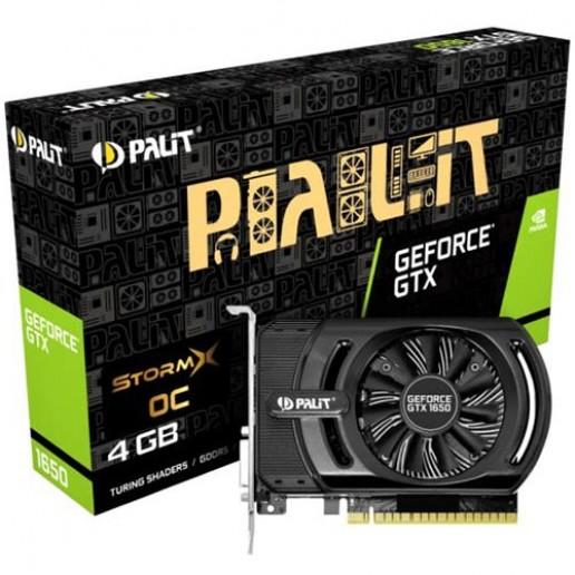 VC Palit nVidia GTX1650 StormX OC 4GB GDDR5 , 128bit, DVI, HDMI, part# NE51650S06G1-1170F