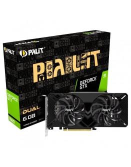 VC Palit nVidia GTX1660 Dual 6GB GDDR5, 192bit, DVI, HDMI, DP part# NE51660018J9-1161A