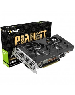 VC Palit nVidia GTX1660Ti DUAL 6GB GDDR5, 192bit, DVI, HDMI, DP part# NE6166T018J9-1160A