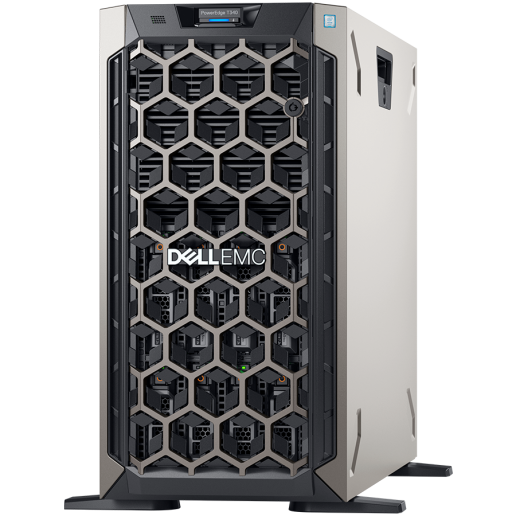PE T340,8x3.5 chassis ho-plug HDD,Xeon E-2124 3.3GHz 4C/8T,Bezel,1x16GB 2666MT/s ECC UDIMM,idrac9 Basic,1x2TB HDD 7.2K NLSAS 3.5,PERC H730P 2GB NV cache,(1+0)495W PSU hot-plug,no ODD,TPM 2.0,DualPort 1Gbe LOM,3Y NBD