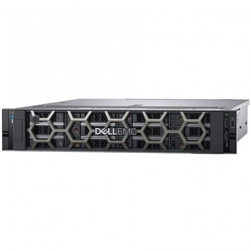 """Power Edge R540/Chassis 12 x 3.5"""" HotPlug HDD/Xeon Silver 4210R 2.4GHz 10C/20T 13.75M Cache/16GB RAM 3200/PERC H730P 2GB NVC/480GB SSD SATA Ri/iDRAC9 Ent/Rails/Bezel/No ODD/no Riser/On-Board LOM Dual Port 1Gbe/(1+1)495W PSU/TPM 2.0/3Y NBD"""