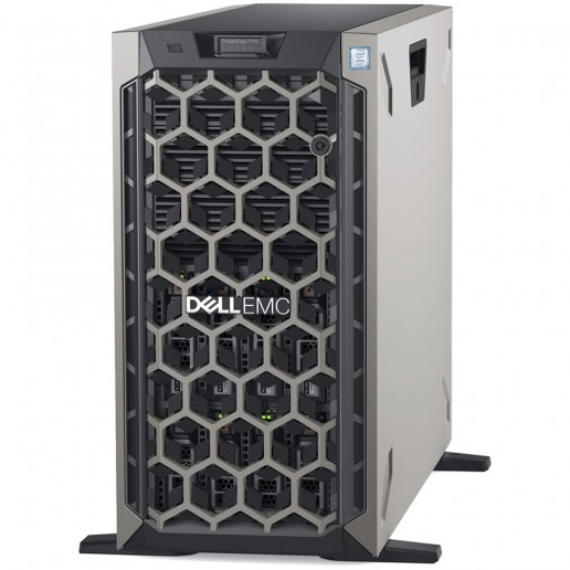 "Power Edge T440/Chassis 8x3.5"" Hot-Plug HDD/4210R 2.4GHz 10C 13.75MB/16GB RAM RDIMM 3200MT/PERC H730P 2GB Cache/480GB SSD SATA Mix Use/iDRAC9 Enterprise/Bezel/No optical drive/On-Board LOM Dual Port 1Gbe/(1+1)750W PSU/TPM 2.0/3Y NBD Warranty"