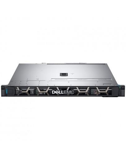 PowerEdge R340,Xeon E-2124 3.3GHz, 8M cache, 4C/4T,3.5 Chassis with 4 Hot Plug HDD,Bezel,Riser 1xFHx8 1xLPx4 PCIe Gen3,8GB 2666MT/s DDR4 ECC UDIMM,iDrac9 Bas,1TB 7.2K SATA 6Gbps Hot-plug,PERC H330 RAID,no ODD,TPM 1.2,On-Board LOM,Rails,3Y NBD