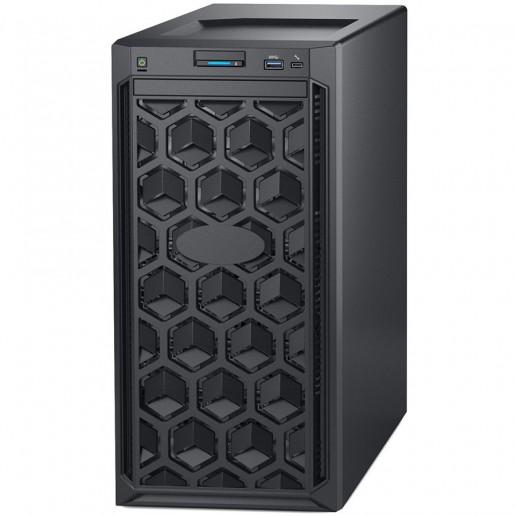 PowerEdge T140,Intel Xeon E-2124 3.3GHz 8M cache 4C/4T,3.5 Chassis up to 4 Cabled HDD,8GB 2666MT/s DDR4 ECC UDIMM,iDrac9 Bas.,2x1TB SATA 6Gbps 3.5Cabled HDD,PERC H330 RAID,DVD+/-RW,TPM 1.2,On-Board LOM 1Gbe,EU power cord,3Y NBD