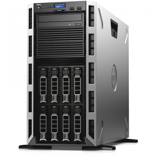 PowerEdge T430 Server,Xeon E5-2620v4,Chassis with 8x3.5 Hot Plug HDD,16GB RDIMM 2400MT/s,iDRAC8 Basic,120GB SSD SATA Boot MLC 6Gbps,PERC H730 Controller 1GB Cache,DVD+/-RW,Single Hot-plug PSU(1+0)750W,TPM 2.0,EU Pwr cord,3Y NBD