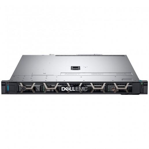 """R340 Server,3.5"""" Chassis x4 Hot Plug HDD,Xeon E-2244G 3.8GHz 8M 4C/8T,Riser 1xFH x8,1xLP x4 PCIe G3,16GB 2666MT/s DDR4 ECC,iDrac9 Basic,1TB 7.2K SATA HDD,H330,no ODD,(1+1)350W PSU,TPM 2.0,On-Board LOM 1GbE,Rails w/o CMA,3Y NBD"""