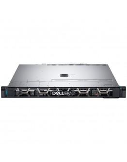 """R340 Server,3.5"""" Chassis x4 Hot Plug HDD,Xeon E-2244G 3.8GHz 8M 4C/8T,Riser 1xFH x8,1xLP x4 PCIe G3,16GB 2666MT/s DDR4 ECC,iDrac9 Basic,1TB 7.2K SATA HDD,H330,no ODD,(1+1)550W PSU,TPM 2.0,BC5719 4-port 1GbE LP,On-Board LOM 1GbE,Rails w/o CMA,3Y NBD"""
