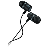 CANYON Stereo earphones with microphone, 1.2M, dark gray