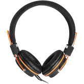 CANYON headphones, detachable cable with microphone, foldable, black