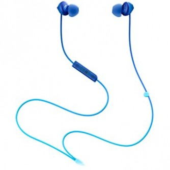 TCL In-ear Wired Headset, Frequency of response: 10-23K, Sensitivity: 104 dB, Driver Size: 8.6mm, Impedence: 28 Ohm, Acoustic system: closed, Max power input: 25mW, Connectivity type: 3.5mm jack, Color Ocean Blue