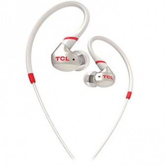 TCL In-ear Wired Sport Headset, IPX4, Frequency of response: 10-22K, Sensitivity: 100 dB, Driver Size: 8.6mm, Impedence: 16 Ohm, Acoustic system: closed, Max power input: 20mW, Connectivity type: 3.5mm jack, Color Crimson White