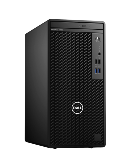 Dell OptiPlex 3080 MT, Intel Core i3-10105 (6M Cache, 4C, 3.7 GHz up to 4.4Ghz), 4GB (1x4GB) 2666MHz DDR4, 1TB SATA, Intel UHD Graphics, DVD-RW, Keyboard and Mouse, Win 10 Pro, 3Y Basic Onsite