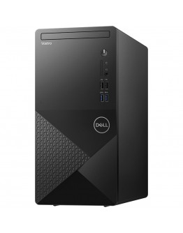 Dell Vostro 3888 MT, Intel Core i3-10100 (6MB Cache, up to 4.3 GHz), 8GB (1x8GB) 2666MHz UDIMM DDR4, 1TB 7200RPM SATA, DVD-RW, Intel UHD Graphics, WiFi 802.11ac, BT, Keyboard and Mouse, Ubuntu, 3Y Basic Onsite