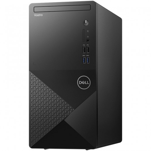 Dell Vostro 3888 MT, Intel Core i5-10400 (6C, 12M Cache, 2.9 GHz up to 4.30Ghz), 4GB (1x4GB) 2666MHz DDR4, 1TB SATA, Intel UHD Graphics, DVD-RW, Keyboard and Mouse, Win 10 Pro, 3Y Basic Onsite