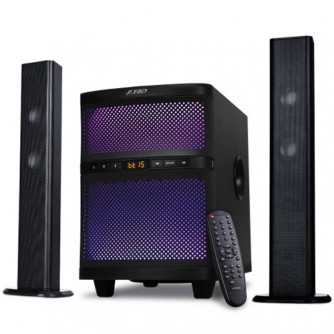 Multimedia - Speaker F&D T-200X (17.5Wx2+35W (RMS), Subwoofer Frequency response: 30Hz~104Hz, Satellite Frequency response: 135Hz~20kHz, Bluetooth 4.0, Plug & play USB)