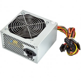 ADK-A550W Power Supply TrendSonic AC 115/230V, 47/63Hz, DC 3.3/5/12V, 550W, OEM, 20+4 pin, 3 x SATA, 2 x IDE, 1x120, Efficiency 55%