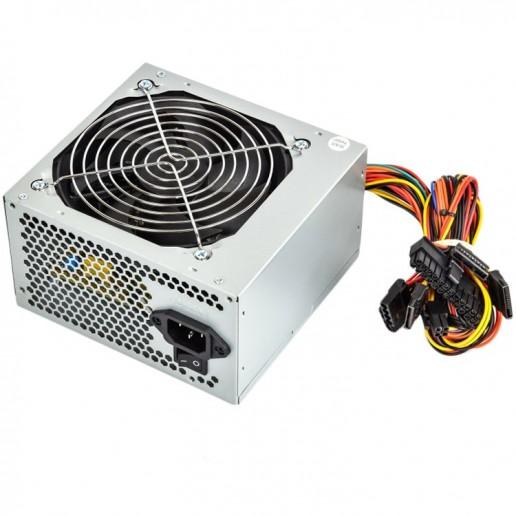 ADK-A550W Power Supply TrendSonic AC 115/230V, 47/63Hz, DC 3.3/5/12V, 550W, OEM, 20+4 pin, 3 x SATA, 2 x IDE, 1x120, Efficiency 55%