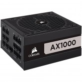 CORSAIR AX Series AX1000 — 1000 Watt 80 PLUS Titanium Certified Fully Modular ATX PSU (EU)