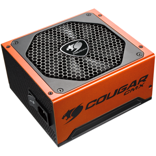 COUGAR CMX 1200, 1200W, 80 Plus Bronze, Ultra-quiet & Temperature-controlled 120mm Fan, Full Protections with SCP, OCP, OVP, UVP, OPP