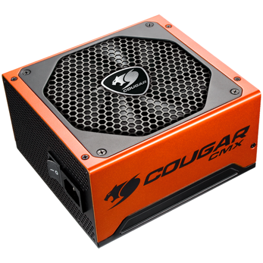COUGAR CMX 850, 80 Plus Bronze, Ultra-Quiet & Temperature-Controlled 140mm fan, Advanced Modular Cable, Support PCI Express 2.0 next-generation graphic card with 8(6+2)pin PCI-E connector, 105 °C Japanese Capacitors