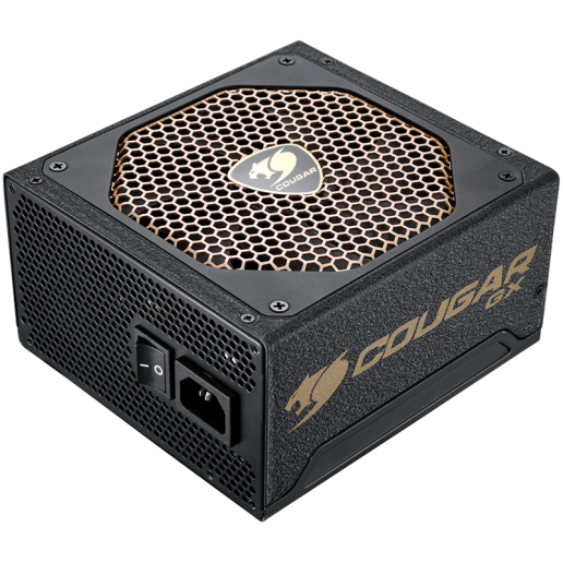 COUGAR GX1050, 1050W, 80 Plus Gold, Ultra-quiet & Temperature-controlled 140mm Fan, Full Protections with SCP, OCP, OVP, UVP, OPP