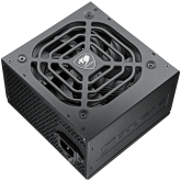 COUGAR POWER XTC 450, 450W, 80 Plus Efficiency, Connectors: 1x 24-pin MB, 1x 8-pin CPU, 2x P-ATA, 4x S-ATA, 2x PCI-E 8(6+2)-pin, Under & Over Voltage Protection, SCP, OPP, OCP, Superior Fan Curve Tuning, Active PFC, 105°C Japanese Standby Capacitors