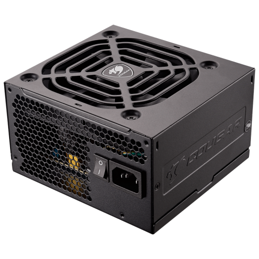 COUGAR STX 650, 650W 80-PLUS Efficiency, Ultra-quiet & Temperature-controlled 120mm fan, Full Protections with SCP, OCP, OVP, UVP, OPP