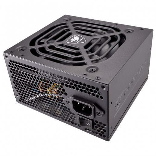 COUGAR VTE 400, 400W, 80 Plus Bronze, Ultra-Quiet 120mm Fan with Thermal Speed Control, Active Power Factor Correction (Active PFC), Supports Multi-GPU Technology, Full Protections with OCP, SCP, OVP, UVP and OPP
