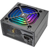 COUGAR XTC650 ARGB, 650W, 80 Plus Efficiency, Connectors: 1x 24-pin MB, 1x 8-pin CPU, 2x P-ATA, 6x S-ATA, 2x PCI-E 8(6+2)-pin, Under&Over Voltage Protection, SCP, OPP, OCP, Superior Fan Curve Tuning, Active PFC, ARGB Sync, 105°C Japanese Capacitors