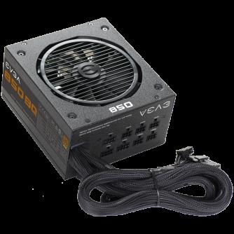 EVGA 850 BQ, 80 Plus BRONZE 850W, Semi Modular, Includes Power ON Self Tester, 5 Year Warranty