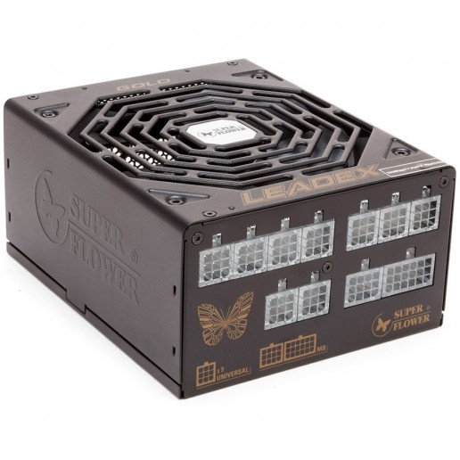 Leadex Gold 550W 80 Plus Gold, 90+ efficiency, Full Cable Management, black, 5y warranty