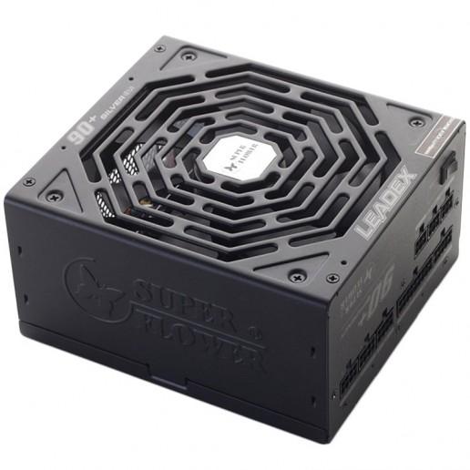 Super Flower Leadex 550W 80+ Plus Silver, 90+ efficiency, Full Cable Management, black, 3y warranty