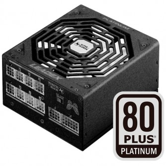 Super Flower Leadex 80+ Platinum 750W, Full Cable Management, 135mm F.D.B. Cooling Fan, black, 5 years warranty